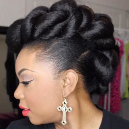 cute black pin up hairstyles stunning wedding hairstyles for black women more com