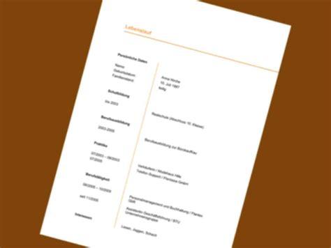 Lebenslauf Muster Nebenjob 21 Lebenslauf Vordruck Designvorlagen