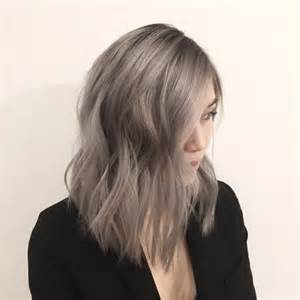 the counter ash hair color for gray hair endless madhouse pretty ashy brown hairstyles
