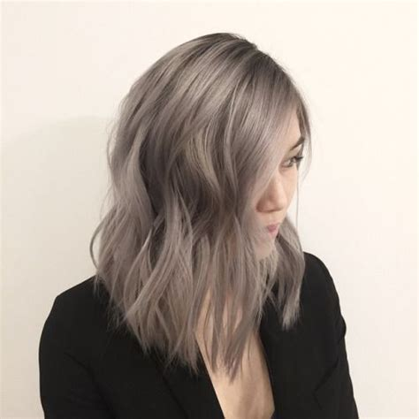 ash gray color endless madhouse pretty ashy brown hairstyles