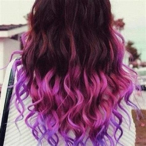 hairstyles to hide dyed hair dip dyed hair image 693690 on favim com