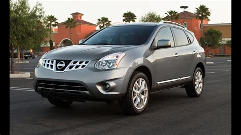 nissan rogue sv awd drive review youtube