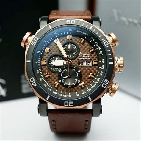 jual jam tangan pria alexandre christie ac  rosegold