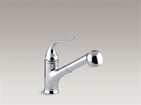 kohler forte single handle pull out sprayer kitchen faucet picture 44 of 50 single handle pullout kitchen faucet