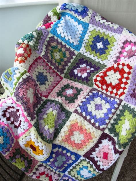 Crochet Patchwork Blanket - 1000 images about patchwork blankets on