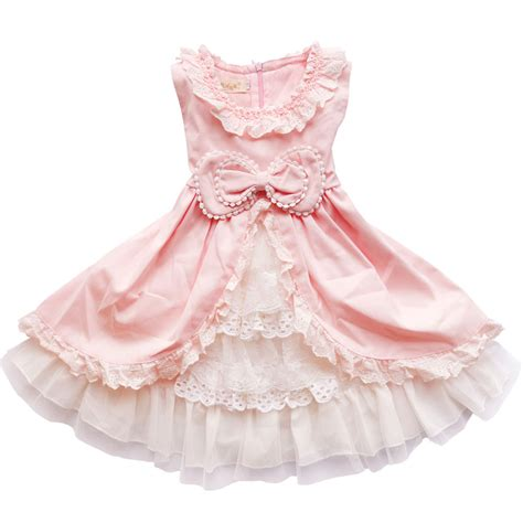 new year clothes baby baby dress 2017 new children lace princess bow