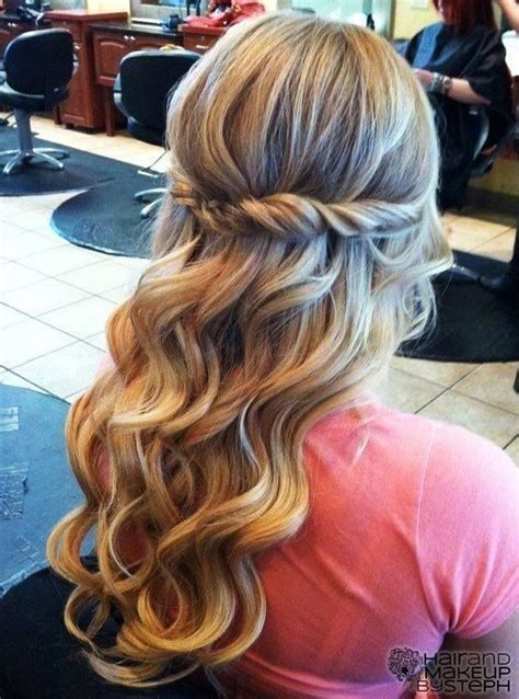down hairstyles for prom tumblr twist and curled hair for prom hairstyles weekly