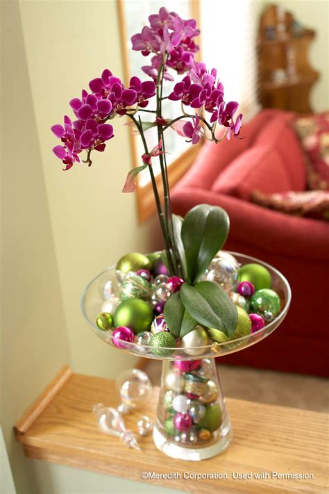 how to decorate a garden orchid flowers ten unique ways to incorporate floral into your holiday