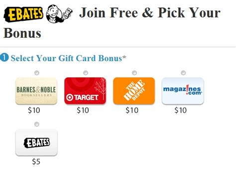 ebates 10 gift card for new accounts my frugal adventures