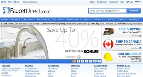 Plumbing Direct by Faucetdirect Coupon Code Mega Deals And Coupons