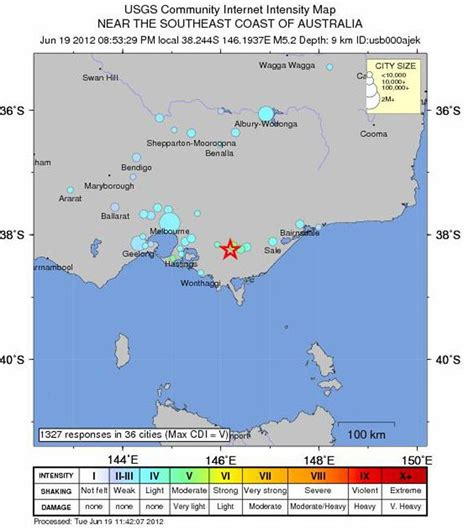 earthquake report text victorian earthquake no one got excited on the day the
