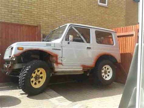how do cars engines work 1987 suzuki sj interior lighting suzuki sj 410 project spares or repair car for sale