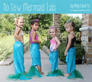 how to make no sew mermaid tails mermaid party craft