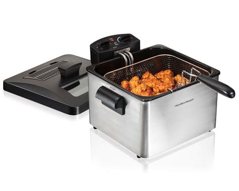 hamilton electric fryer 4 5 liter