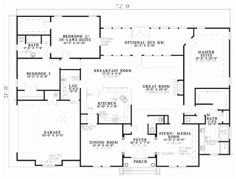 2 story house plans master bedroom downstairs uncategorized 2 master suites floor plan sensational
