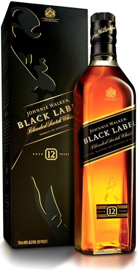 Black Label whisky johnnie walker black label gift box 0 75 l