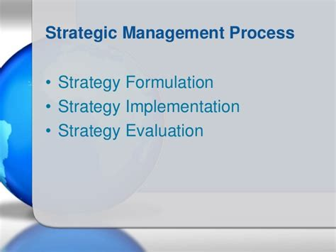 Post Mba Strategy by Mba 590 Strategic Management Chpt 1 2