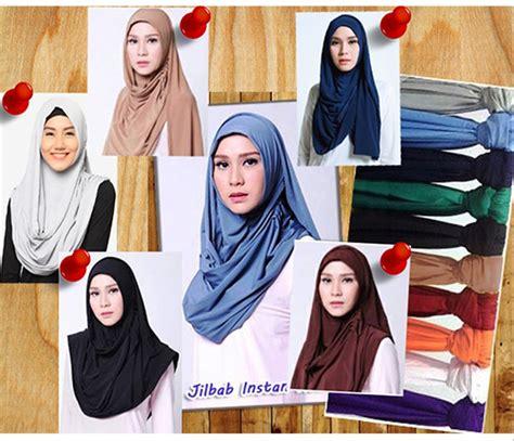 membuat hijab instan tutorial hijab terbaru