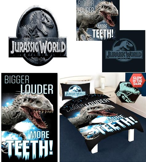 Jurassic Park Bed Set by Jurassic World Park Accessories Duvet Quilt Cover