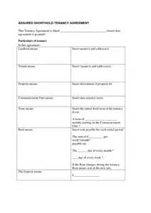 excluded tenancy agreement template excluded tenancy agreement template shorthold tenancy