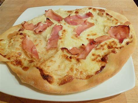 pizza kuchen chefkoch schinken sahne pizza rezepte chefkoch de