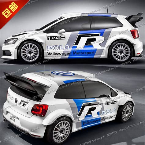 Auto Styling Aufkleber by Super Cool Whole Body Wrc Car Sticker Car Styling Car