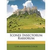 Icones Insectorum Rariorum Carl Alexander Clerck 9781175944030
