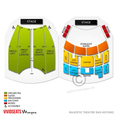 majestic theater san antonio seat numbers majestic theatre san antonio tickets majestic theatre