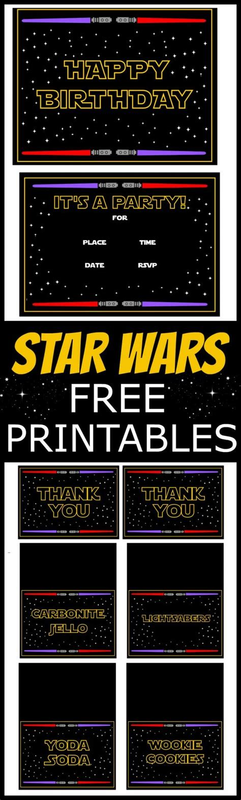 printable thank you cards star wars 1000 ideas about star wars invitations on pinterest