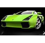 Lamborghini Green Concept Wallpapers  HD