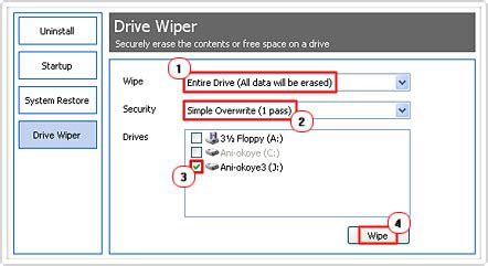 ccleaner wipe entire drive how to wipe your hard drive