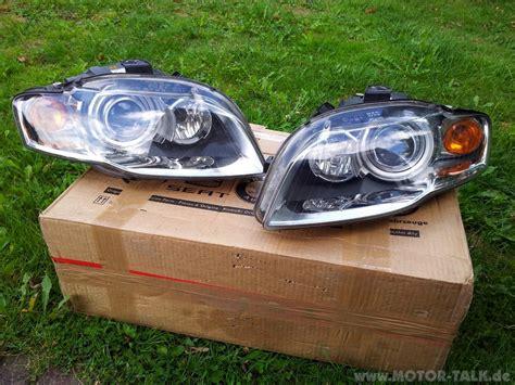 Motorrad Scheinwerfer Milchig by Audi A4 Scheinwerfer Xenon 8e0941004am 8e0941003am