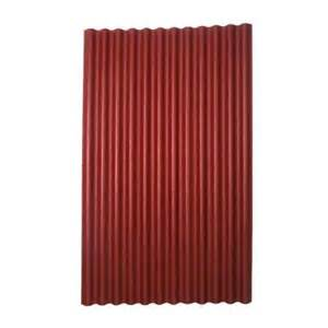 In x 4 ft asphalt corrugated roof panel in red 153 the home depot