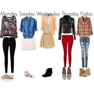 Clothes cute fall fashion girly outfit school trendy