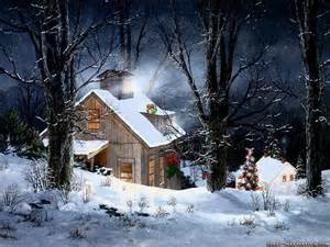 Winter snow scenes is your favourite poll results christmas