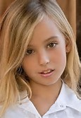 Preteen child non nude model