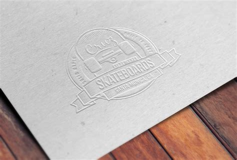 How To Make Embossed Paper - how to create an embossed paper logo mockup in adobe photoshop