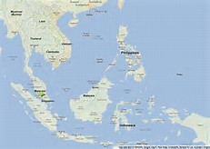 Gambar Peta Asia Tenggara