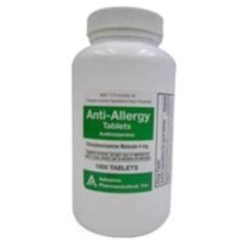 chlorpheniramine for dogs chlorpheniramine antihistamine for use in dogs cats 4mg 1000 count