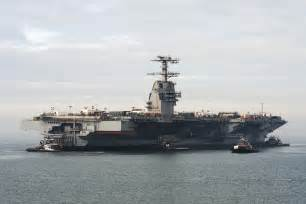 launch of gerald r ford cvn 78 the aircraft carrier