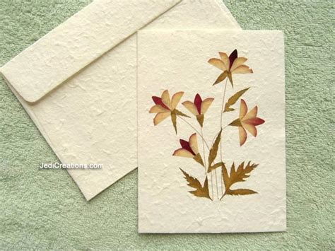 Paper Flowers For Greeting Cards - wholesale greeting cards with pressed flowers jedicreations