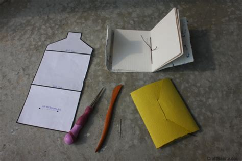 How To Make Tiny Envelopes Out Of Paper - craftsanity on tv envelopes and tiny books using