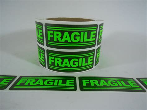 Label Sticker Pengiriman Fragile 3 25 1x3 fragile labels stickers for shipping supplies office products fragile ebay