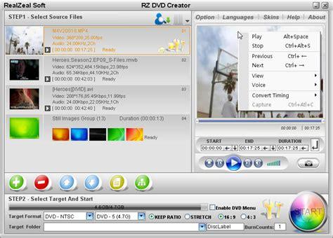 best free dvd creator dvd creator slideshow dvd maker avi to dvd converter