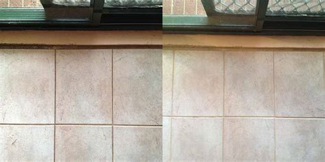 Grout Cleaning Before And After Tile And Grout Cleaning Canberra