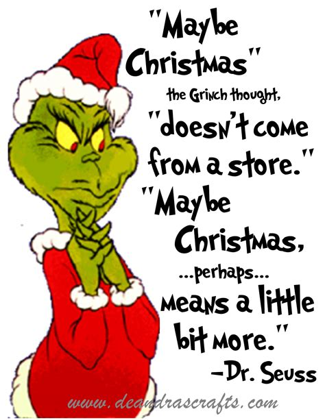 printable grinch quotes maybe christmas the grinch thought doe by dr seuss