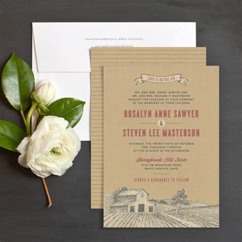 Farm Theme Wedding Invitations by Best 25 Farm Wedding Themes Ideas On Outdoor