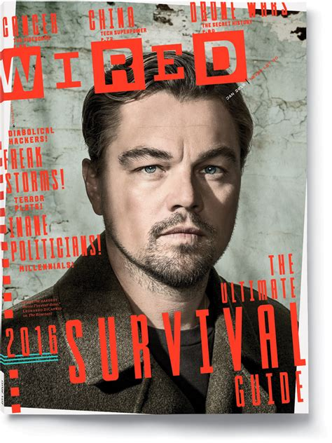how wired leonardo dicaprio the wired wired