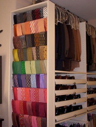 How To Organize Ties In Closet by 1000 Ideas About Tie Rack On Organize Ties