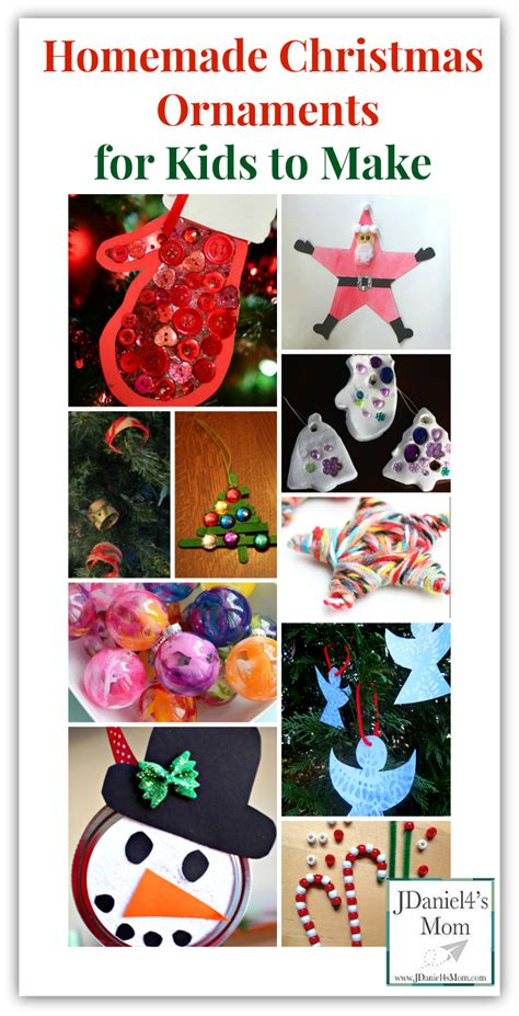 to make with children ornaments for to make easy